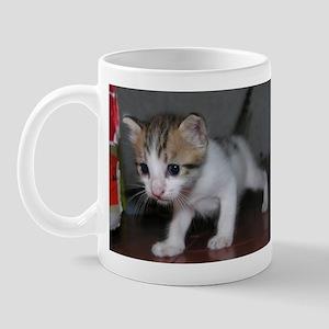Walking Kitty Mug