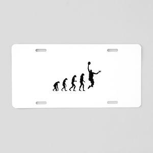 Evolution basketball Aluminum License Plate