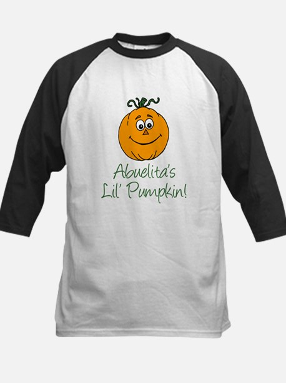Abuelita's Little Pumpkin Kids Baseball Jersey