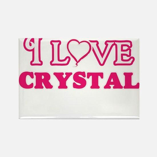 I Love Crystal Magnets