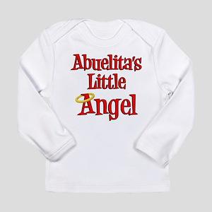 Abuelita's Little Angel Long Sleeve Infant T-Shirt