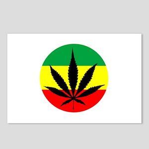 Rasta Marijuana Postcards (Package of 8)