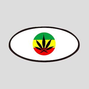 Rasta Marijuana Patches