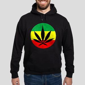 Rasta Marijuana Hoodie (dark)