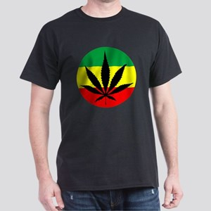 Rasta Marijuana Dark T-Shirt