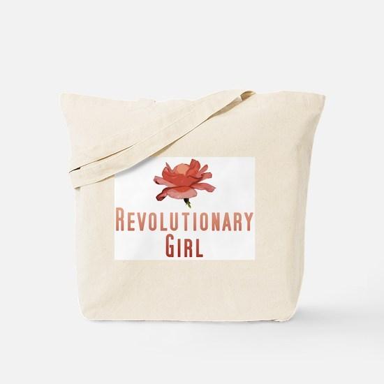 Revolutionary Girl Tote Bag
