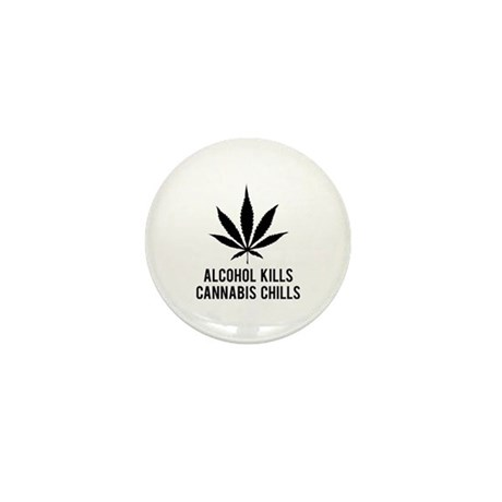Cannabis Chills Mini Button (10 pack)