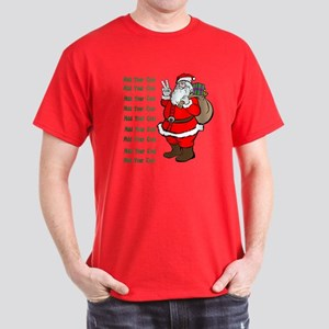 Add Your Own Text Santa Dark T-Shirt