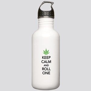 Keep calm and roll one Stainless Water Bottle 1.0L