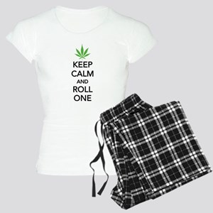 Keep calm and roll one Women's Light Pajamas