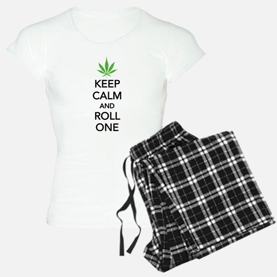 Keep calm and roll one Pajamas