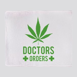 Doctors Orders Throw Blanket