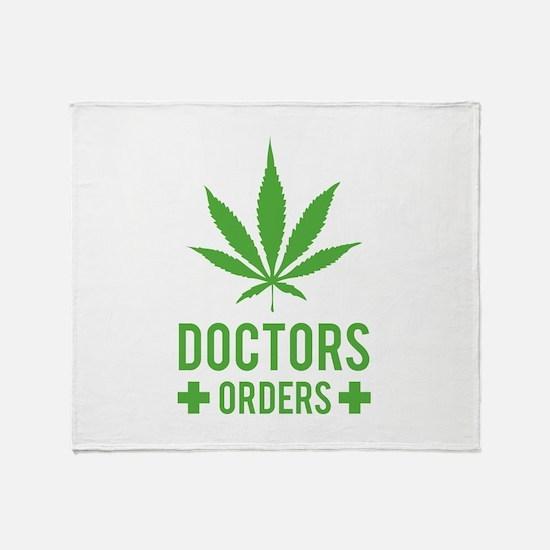 Doctors Orders Throw Blanket