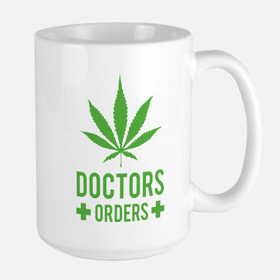 Doctors Orders Large Mug