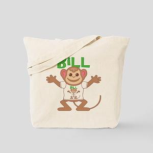 Little Monkey Bill Tote Bag