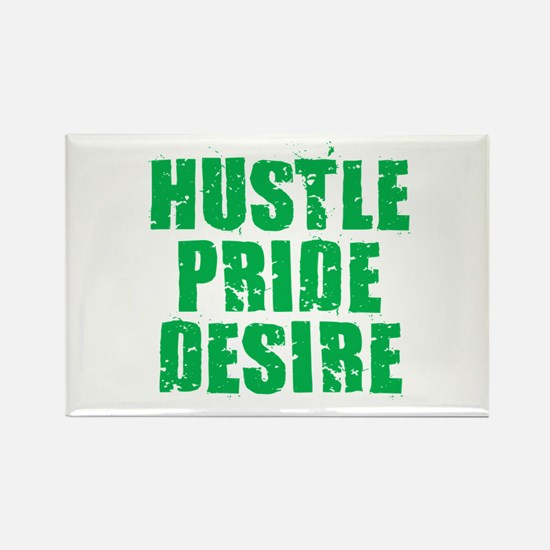 Hustle Pride Desire - Green Magnets