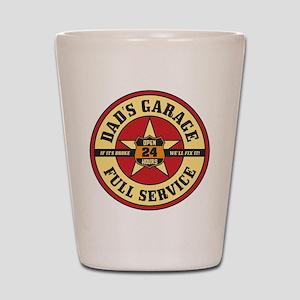 Dad's Garage Shot Glass