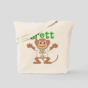 Little Monkey Brett Tote Bag