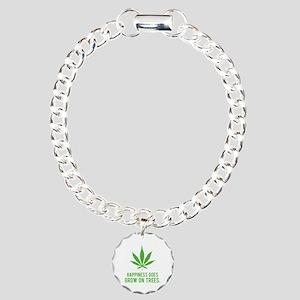 Hapiness Charm Bracelet, One Charm