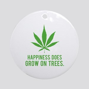 Hapiness Ornament (Round)