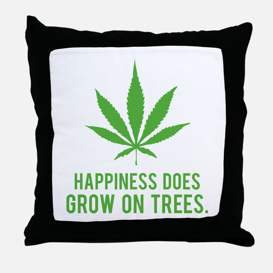 Hapiness Throw Pillow