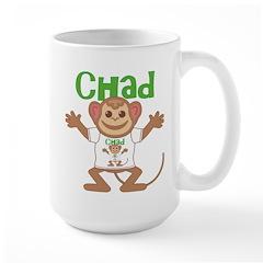 Little Monkey Chad Large Mug