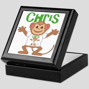 Little Monkey Chris Keepsake Box