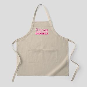 I Love Daniela Light Apron