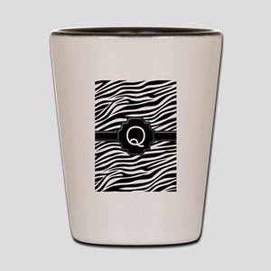 Monogram Letter Q Gifts Shot Glass