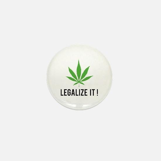 Legalize it ! Mini Button