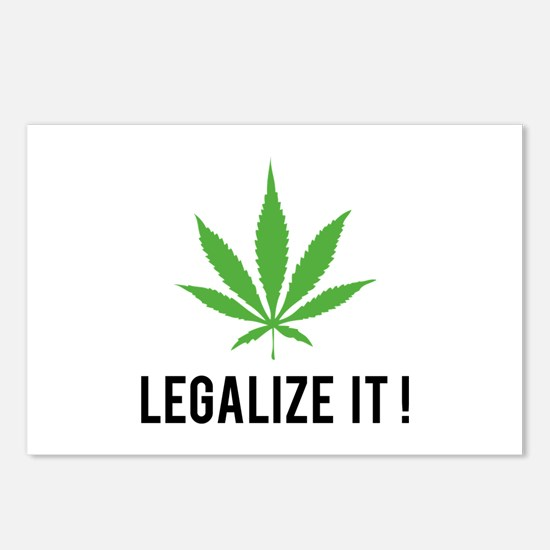 Legalize it ! Postcards (Package of 8)