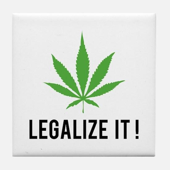 Legalize it ! Tile Coaster