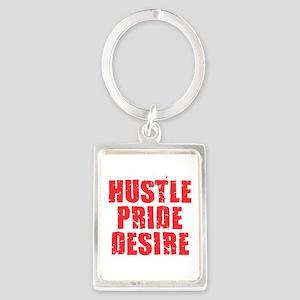 Hustle Pride Desire - Red Keychains