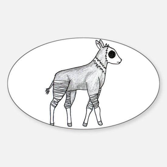 Okapi Sticker (Oval)
