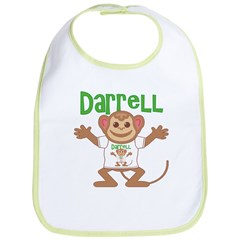 Little Monkey Darrell Bib