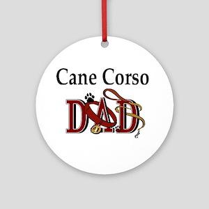 Cane Corso Dad Ornament (Round)