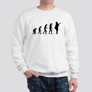 Evolution guitar player Sweatshirt