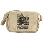 Name Calling Messenger Bag