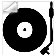 Vinyl Turntable 1 Wall Decal
