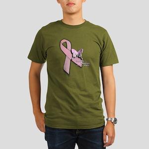Breast Cancer - Organic Men's T-Shirt (dark)