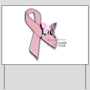 Breast Cancer - Yard Sign