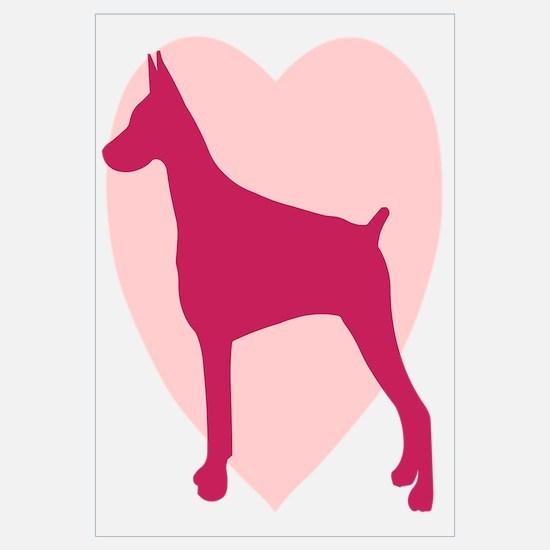 Doberman Pinscher Valentine's Day