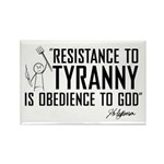Resistance to Tyranny Rectangle Magnet