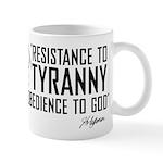 Resistance to Tyranny Mug