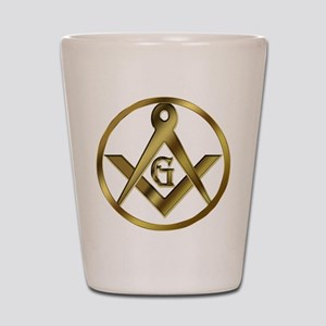 The Masonic Circle Shot Glass