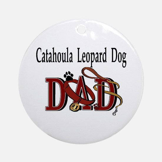 Catahoula Leopard Dog Ornament (Round)