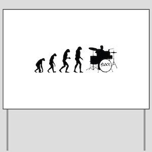 Evolution rock Yard Sign