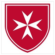 Cross of Malta Poster
