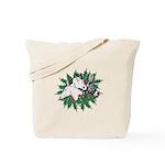 Merry Christmas Three Times O Tote Bag