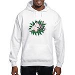 Merry Christmas Three Times O Hooded Sweatshirt